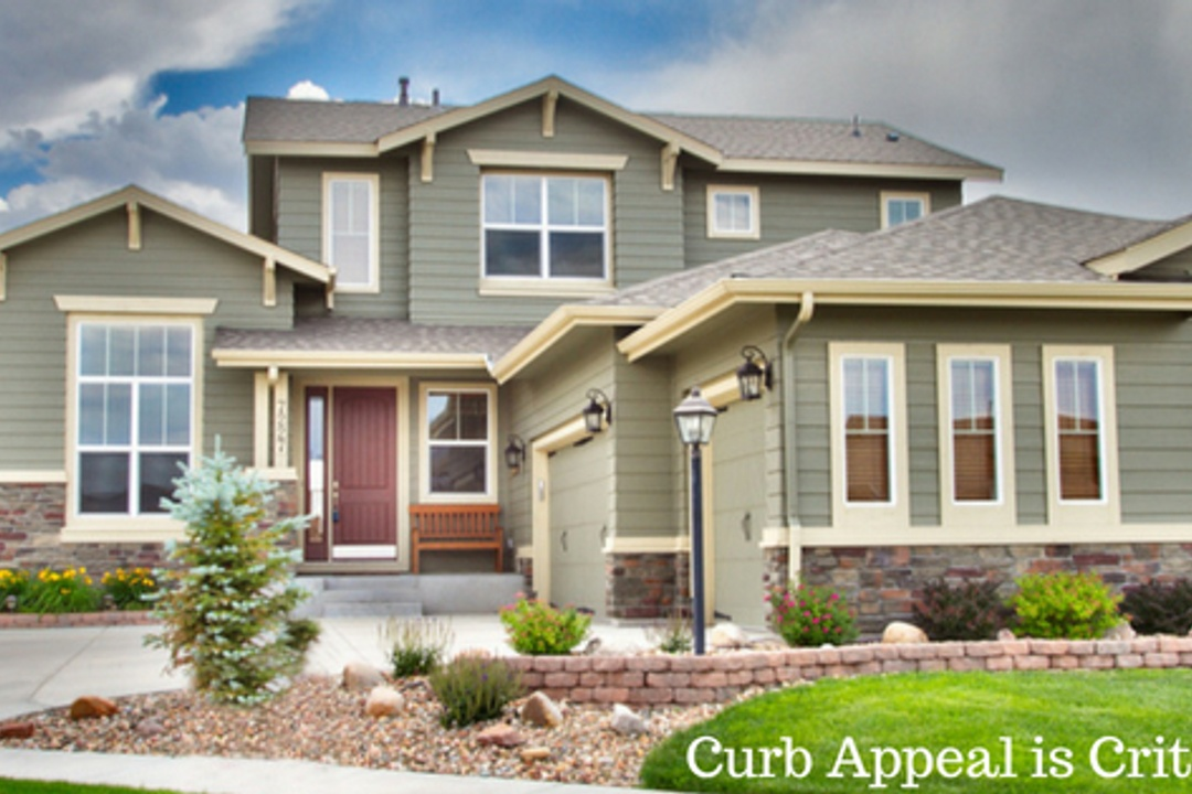 Curb Appeal is Critical with Selling