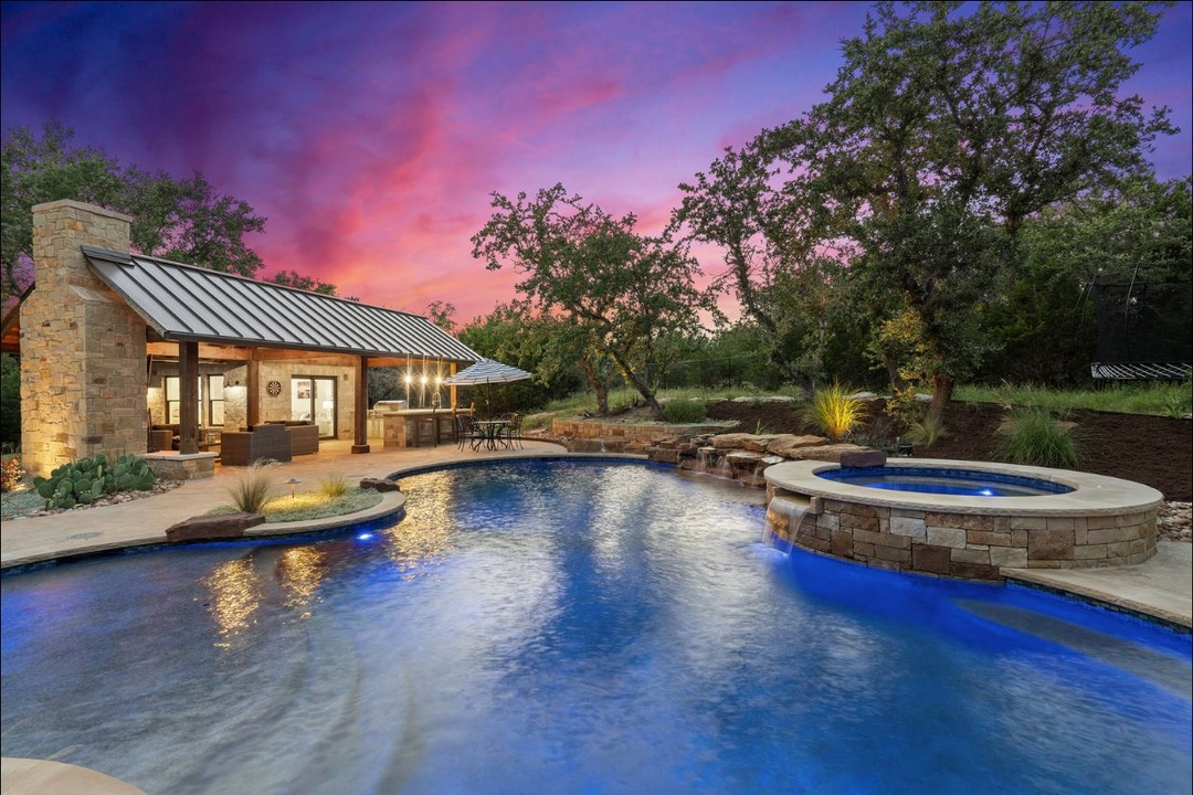 Sold - Resort Style Retreat in Dripping Springs