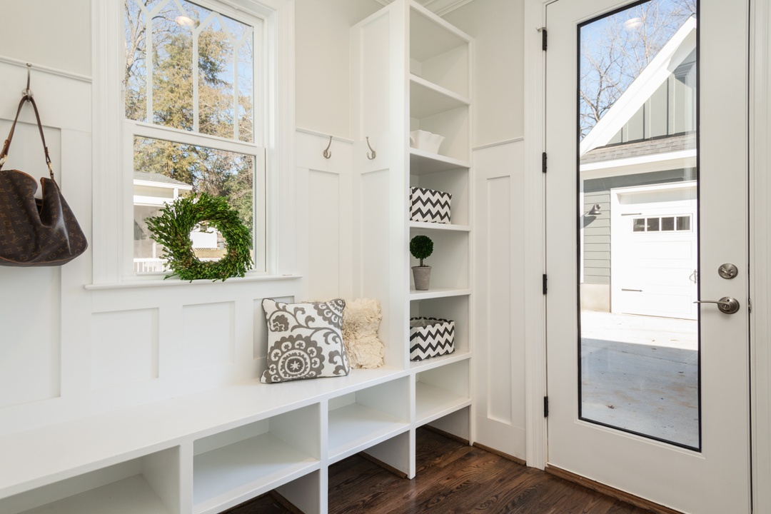Ideas for a Practical Mudroom