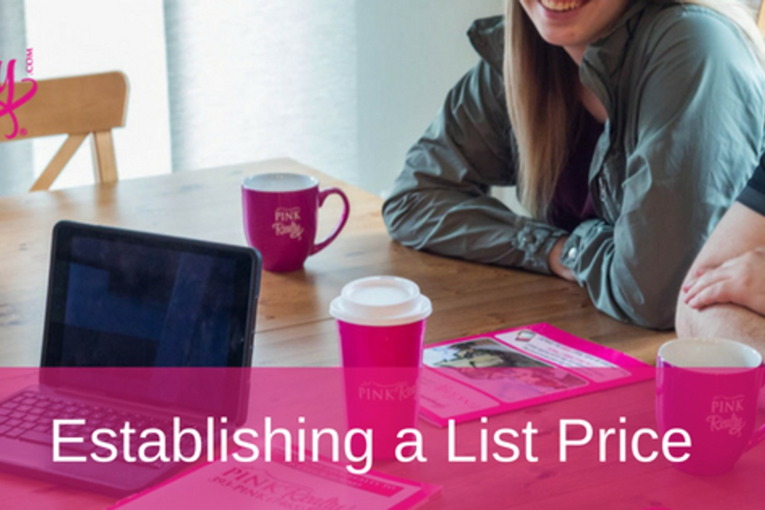 Establishing A List Price