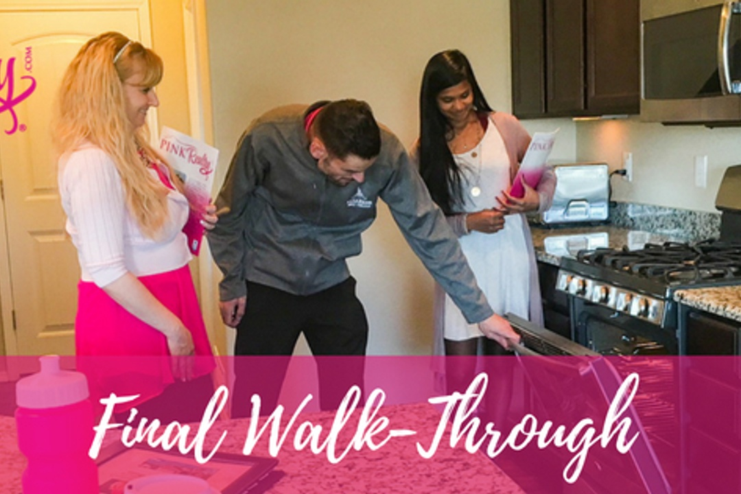 Final Walk-Through on your new home