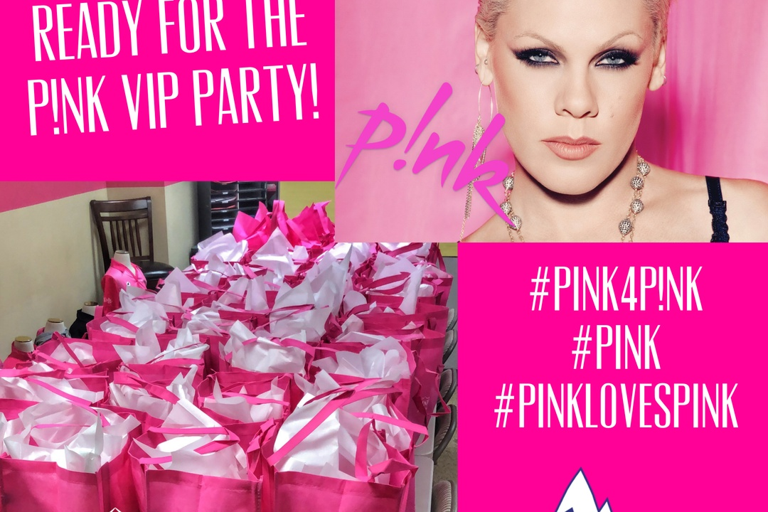 Pink Realty Sponsors P!NK's VIP Party with Peak FM 92.9