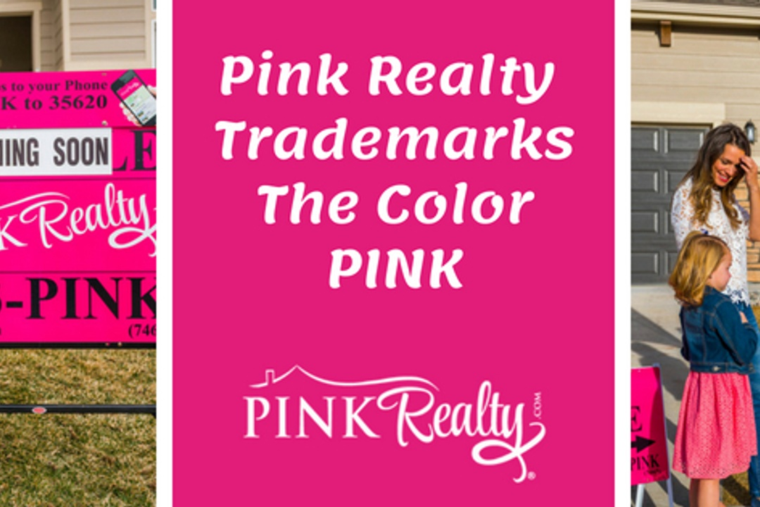 The Color Pink is a Registered Trademark by Pink Realty