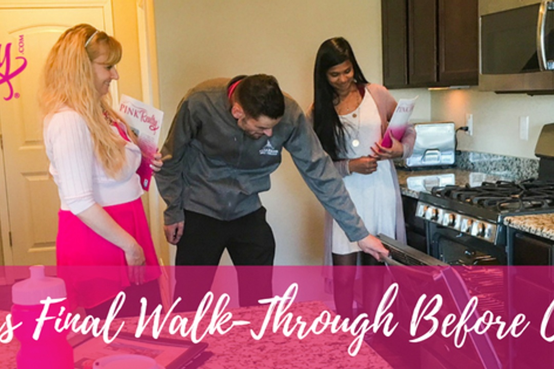 What is a Buyers Final Walk-Through when selling your house?