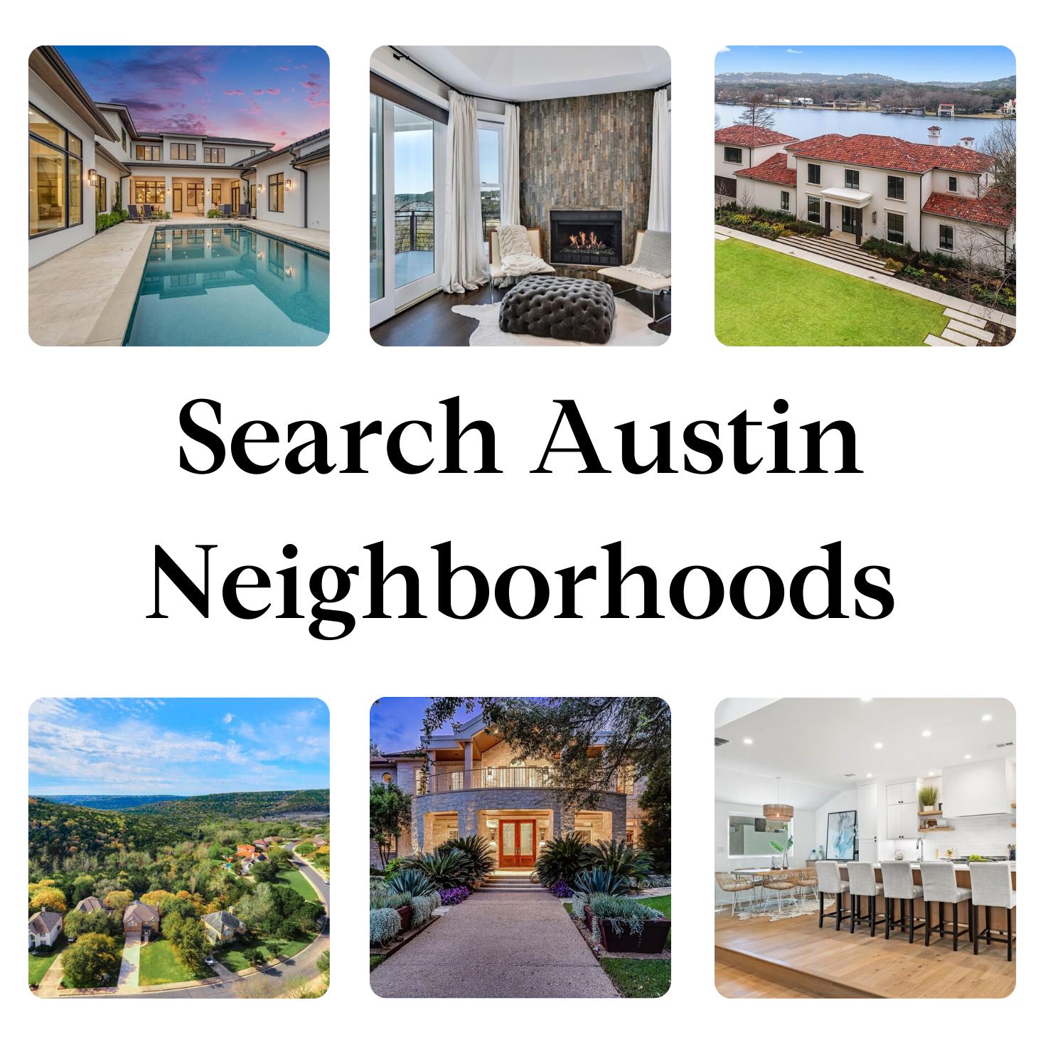 Search Austin Neighborhoods