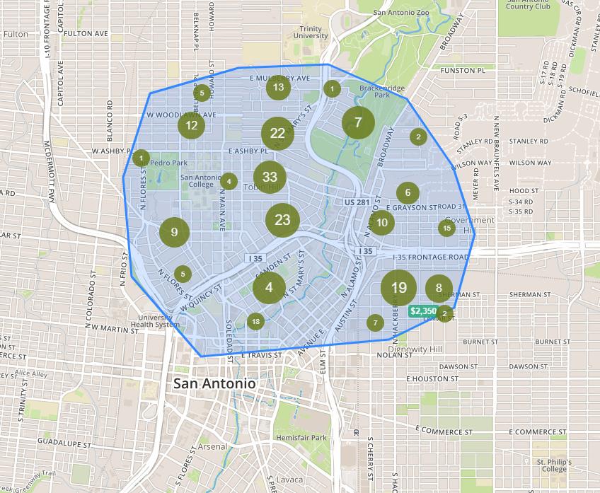 Search Pearl San Antonio Homes for Sale