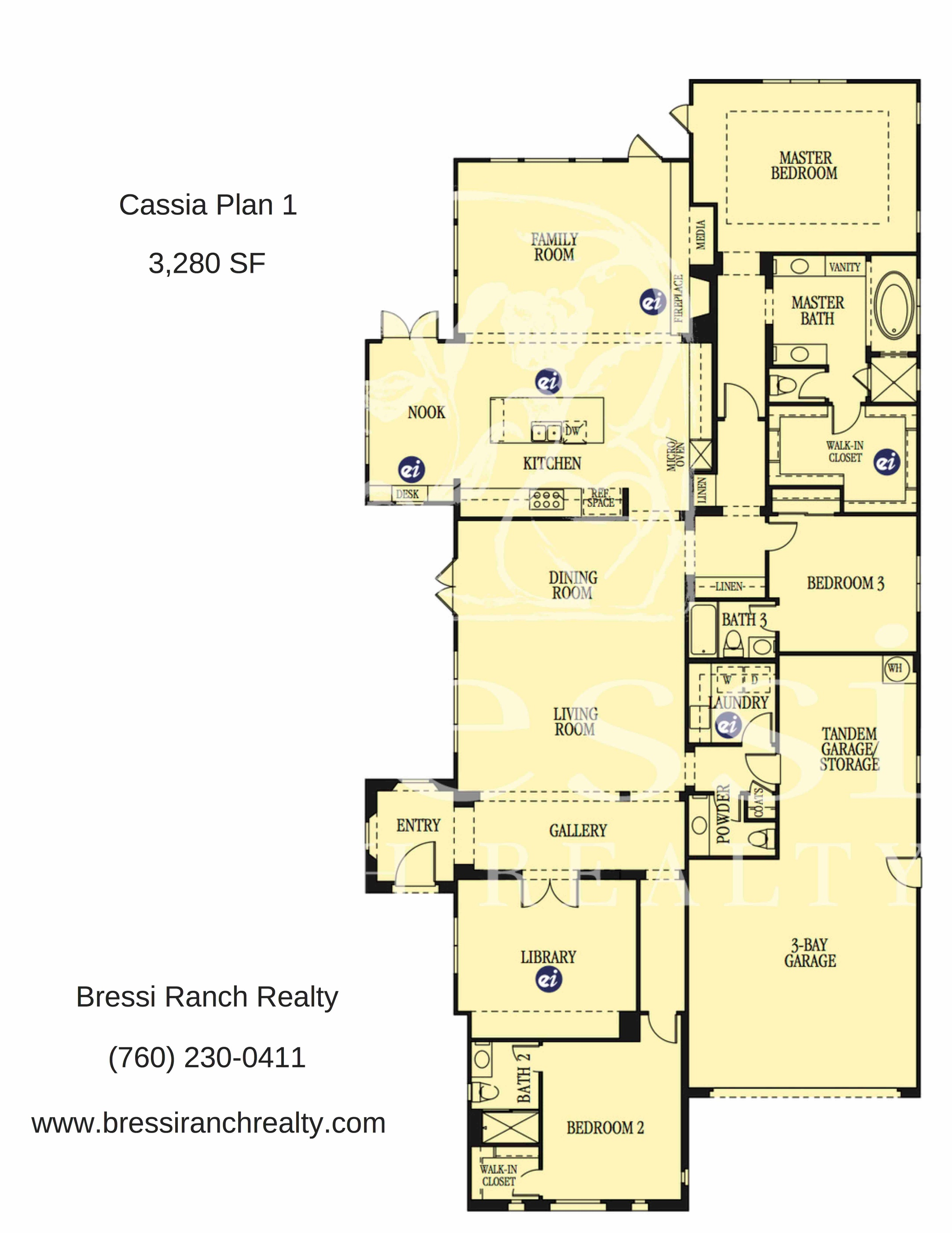 Cassia Plan 1 Floor Plan
