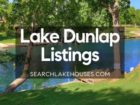 Lake Dunlap Listings