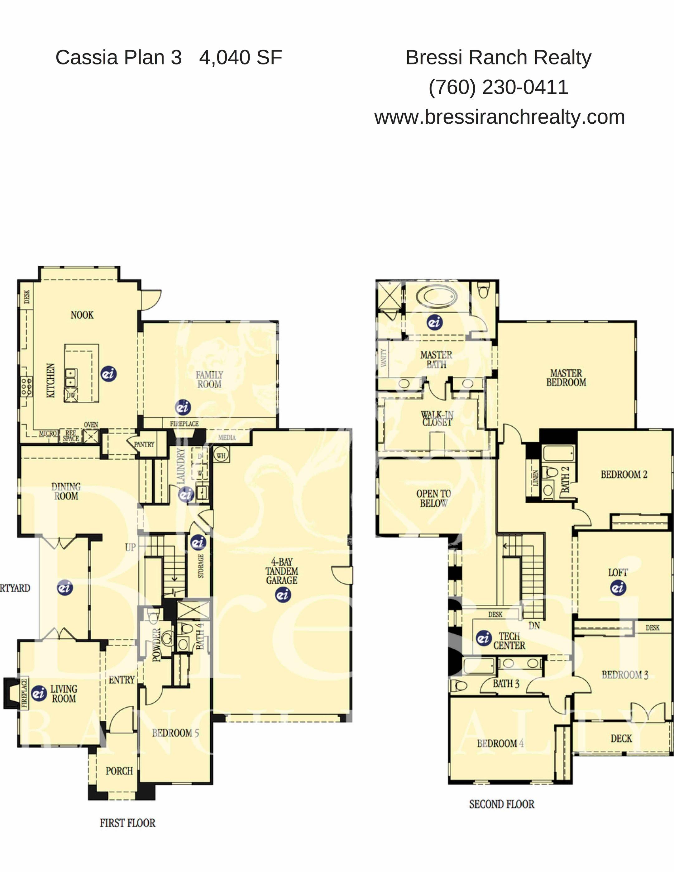 Cassia Plan 3 Floor Plan