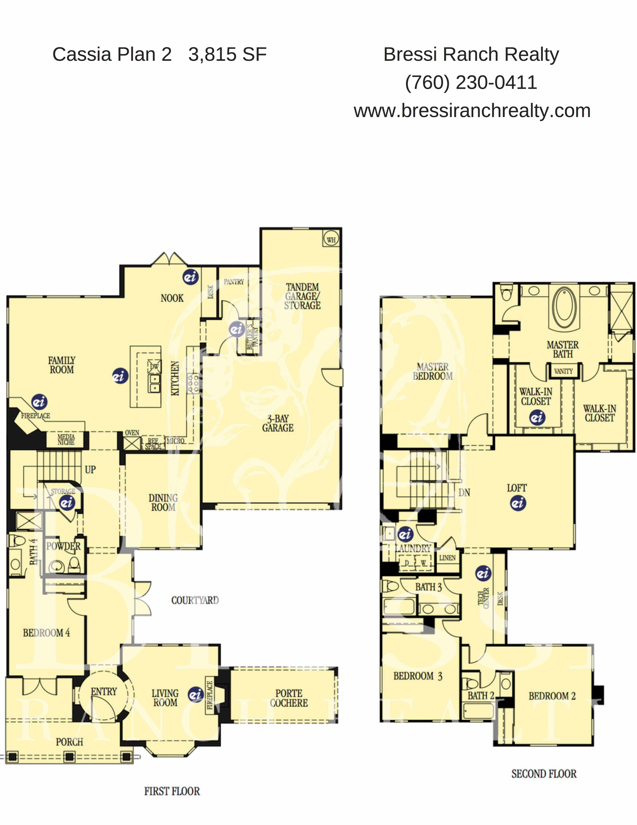 Cassia Plan 2 Floor Plan