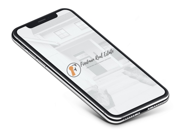 The Friedman real estate app