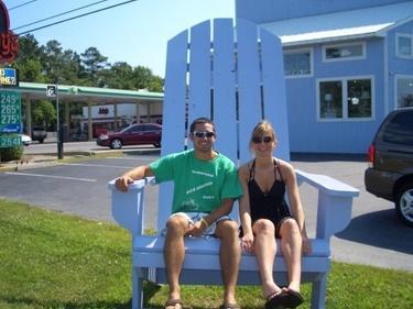 Big chair in Bethany Beach, DE - 2009
