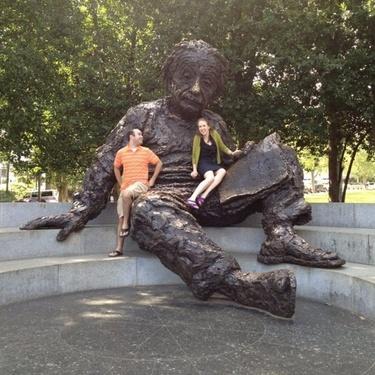 Einstein statue '12