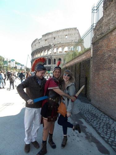 Gladiators!