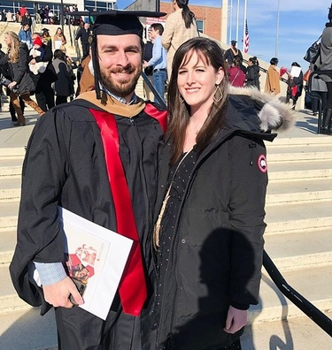 Evan graduated!