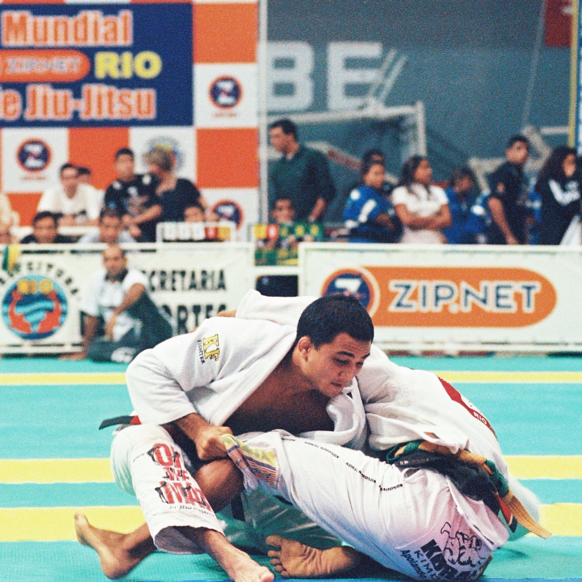 B.J. Penn was the first non-Brazilian black belt to win a Brazilian Jiu-Jitsu World Championship, back in 2000 when we registered this photo. He went to become one of the most accomplished UFC fighters ever afterward.