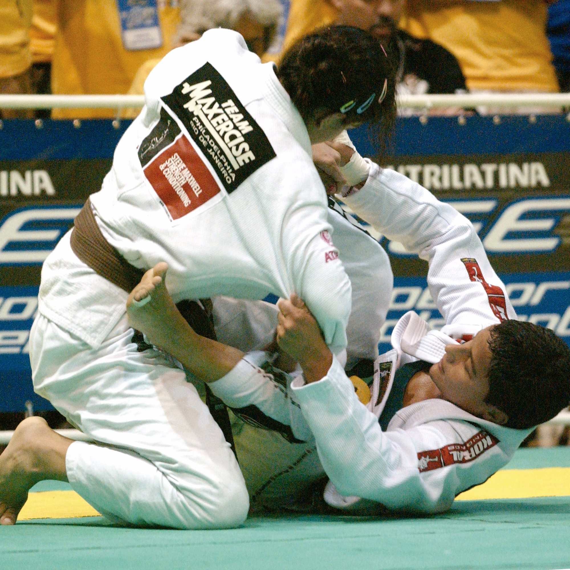 "Alessandra ""Leka"" Vieira is a Brazilian Jiu-Jitsu pioneer among the female athletes, conquering her first of the three BJJ world titles at the highest rank back in 1999. She is currently a mother of two and teaches at Checkmat school in Valencia, CA. Get to know more about Leka <a href=""http://www.bjjheroes.com/bjj-fighters/leka-vieira"">here</a>."