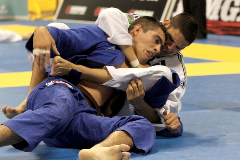 Felipe Preguiça in action at BJJ Worlds 2012