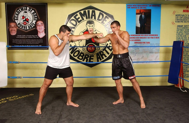 MMA techniques: Peter Aerts and Pedro Rizzo at Nobre Arte Academy