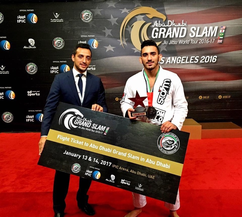 Gold at the UAEJJF LA Grand Slam