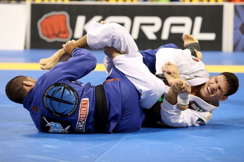 Felipe Preguiça vs André Galvão at BJJ Worlds 2014