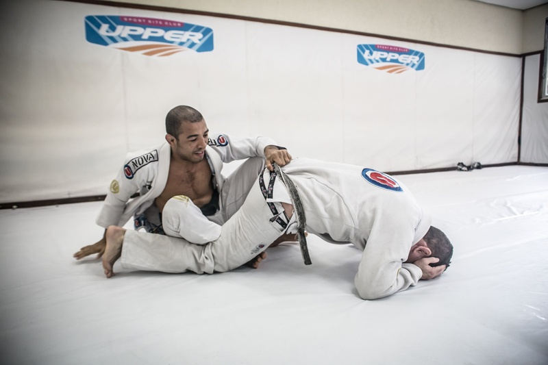 BJJ Technique: José Aldo teaches spider guard sweep