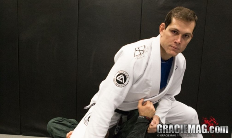 Brazilian Jiu-Jitsu lesson: Roger Gracie teaches a leg drag guard pass