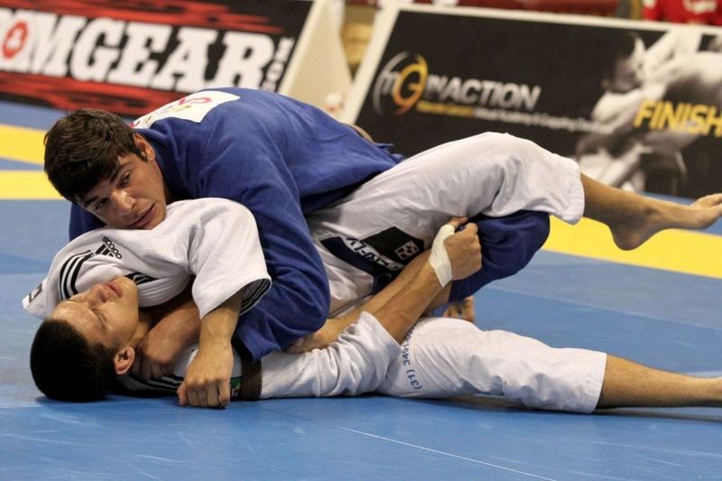 João Gabriel vs Felipe Preguiça at BJJ Worlds 2012