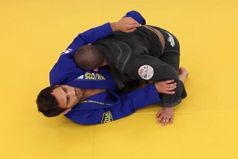 Brazilian Jiu-Jitsu technique: Lucas Leites teaches how to take the back from half guard sweep