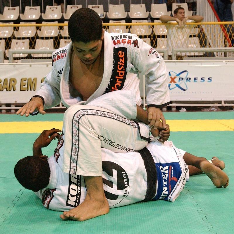 Brazilian Jiu-Jitsu double attack with Andre Galvão