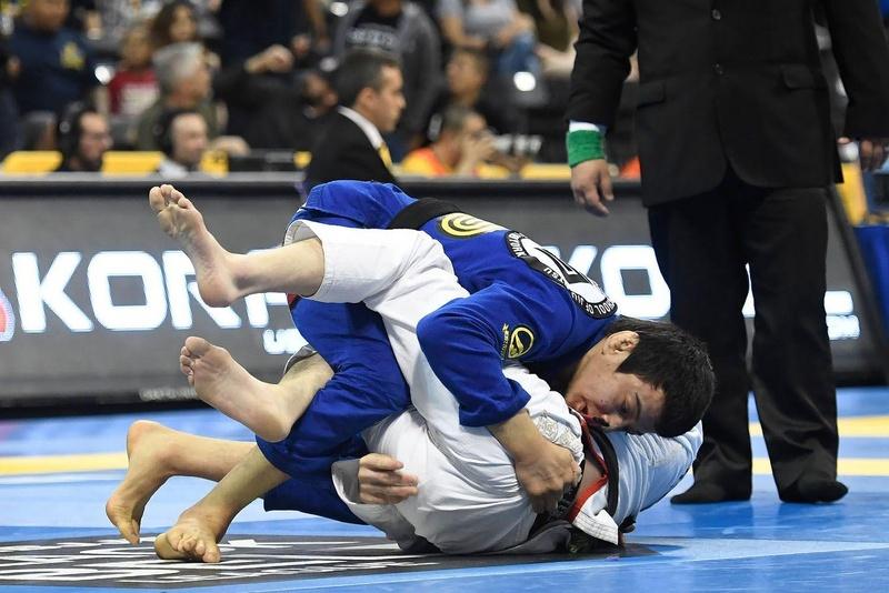 BJJ Worlds 2016: Paulo Miyao vs. Takuto Kako