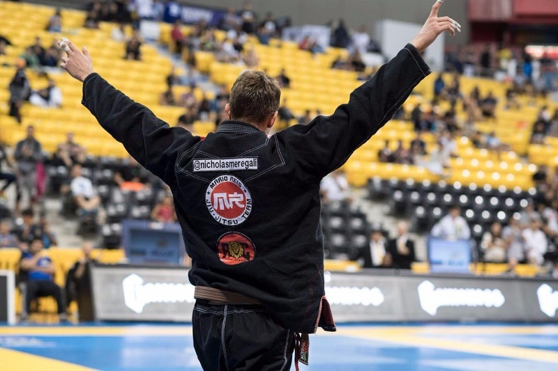 Nicholas Melegari was the big name at the third day of the Jiu-Jitsu Worlds