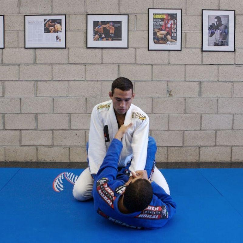 UFC champion Fabricio Werdum teaches a Brazilian Jiu-Jitsu guard pass and choke hold