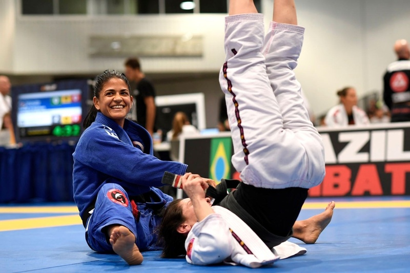 BJJ World Master 2016: Sofia Amarante vs. Carla Franco
