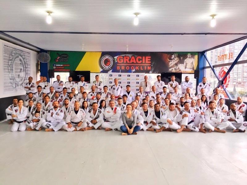 Palestra com Mestre Robson Gracie