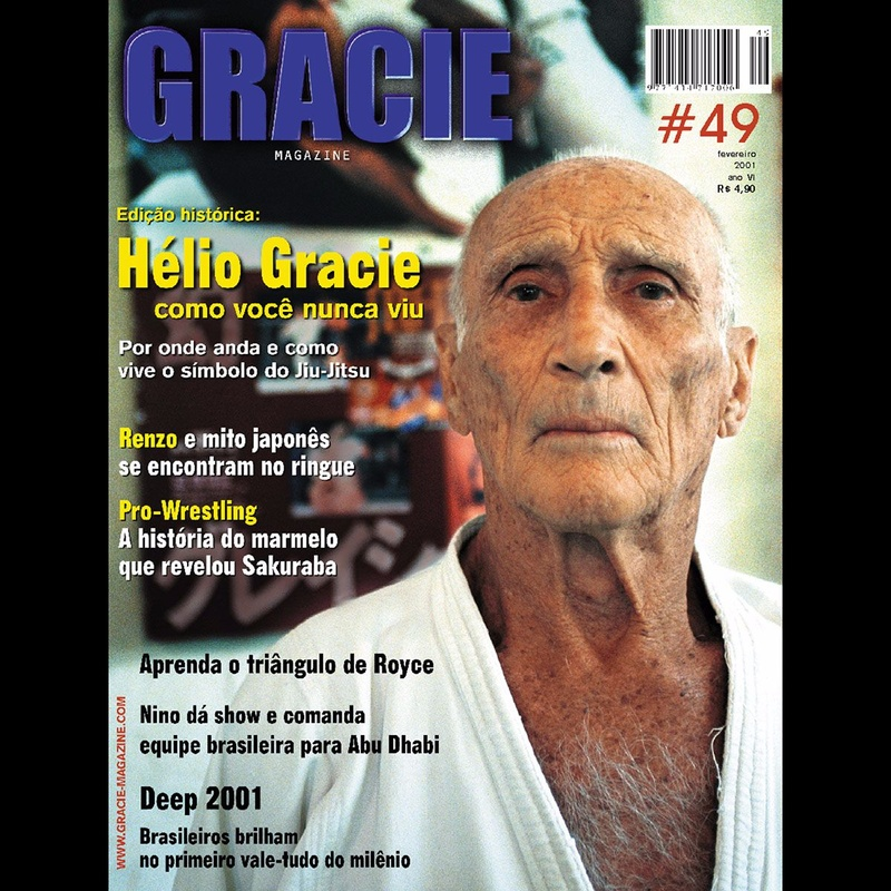 Royce Gracie ensina estrangulamento clássico
