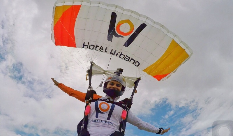 Skydive with Hotel Urbano