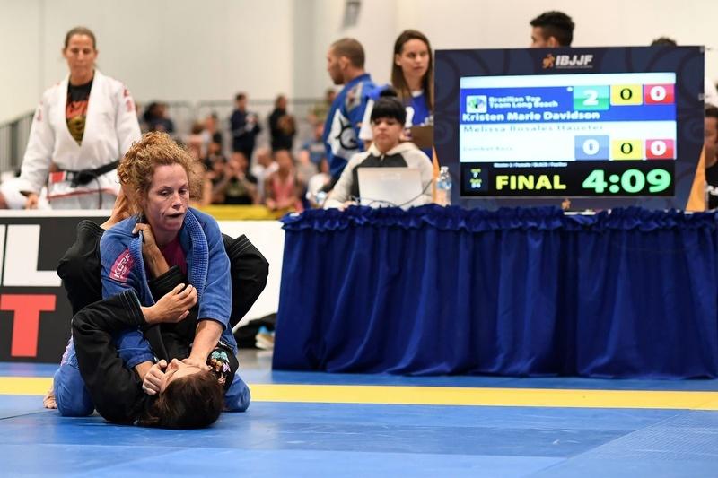 BJJ World Master 2016: Melissa Rosales Haueter vs. Kristen Marie Davidson