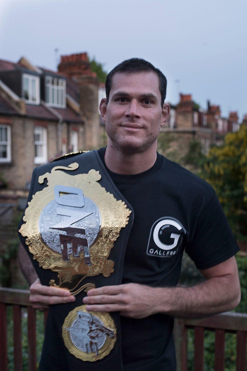 The ONEFC champion, Roger Gracie