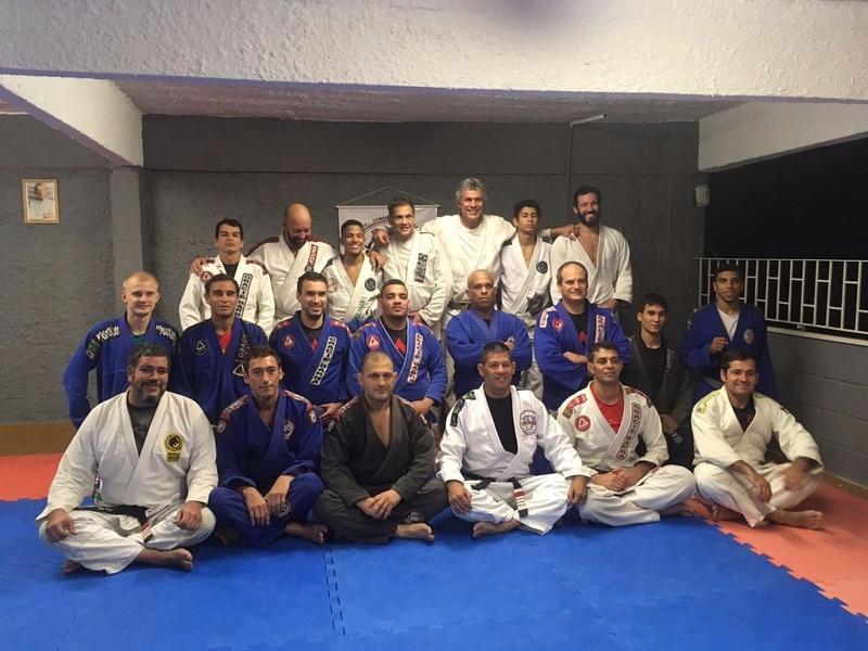 Seminário com Ralph Gracie na Equipe Osmar Moraes Jiu Jitsu