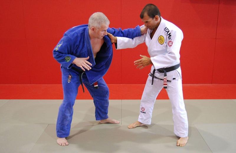 BJJ Techniques: Megaton Dias and his takedown, Ouchi Gari