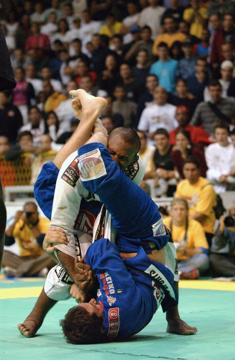 Rodrigo Comprido vs. Roberto Roleta in 2000 at the BJJ Worlds