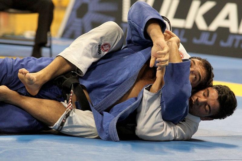 João Gabriel vs Leo Leite at BJJ Worlds 2014
