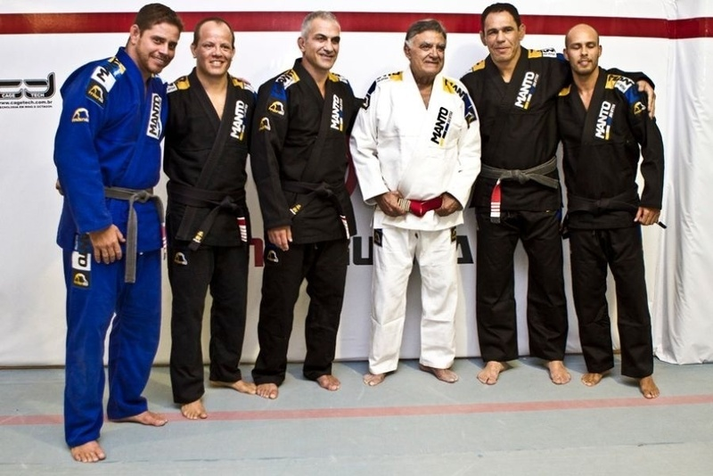 BJJ history: In 2012, between training and drills, Zé Mario Sperry earned his 5th degree