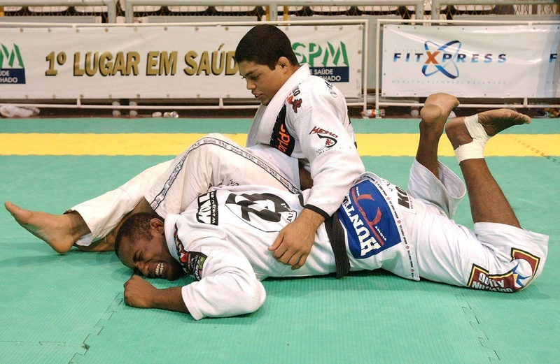 Brazilian Jiu-Jitsu double attack with Andre Galvão