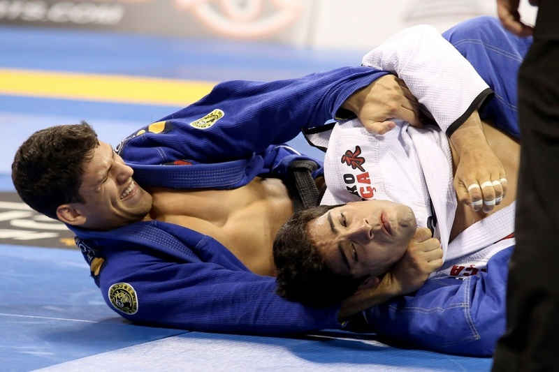 Felipe Preguiça choke at BJJ Worlds 2014