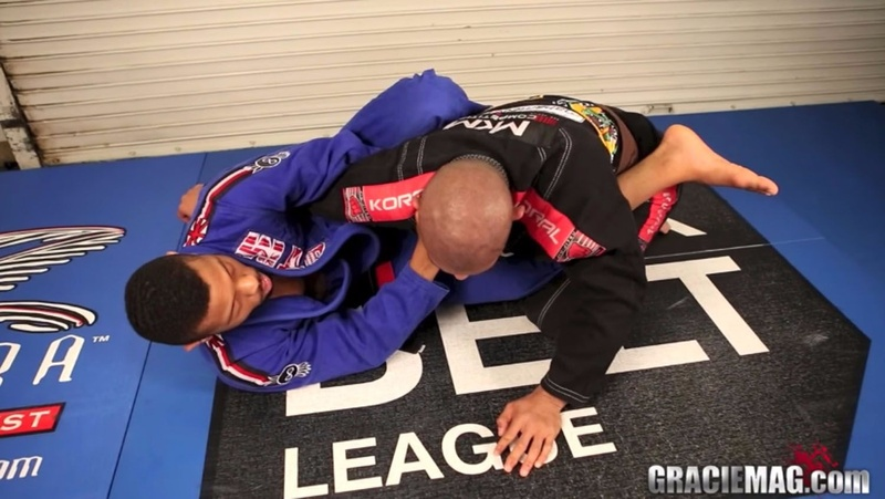 Brazilian Jiu-Jitsu lesson: Tim Spriggs teaches how to apply an overhook choke from closed guard