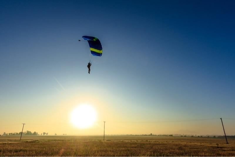Balloon Jump at Skydive Perris