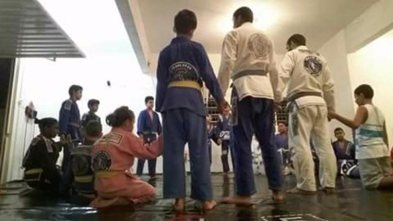 Academia Saikoo JIUJITSU Promissão