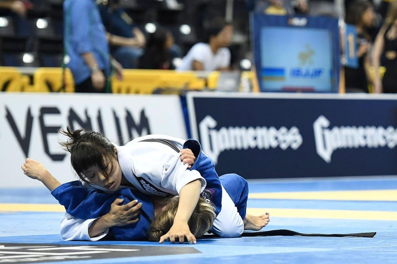 BJJ Worlds 2016: Rikako Yuasa vs. Oiti Jarvilehto